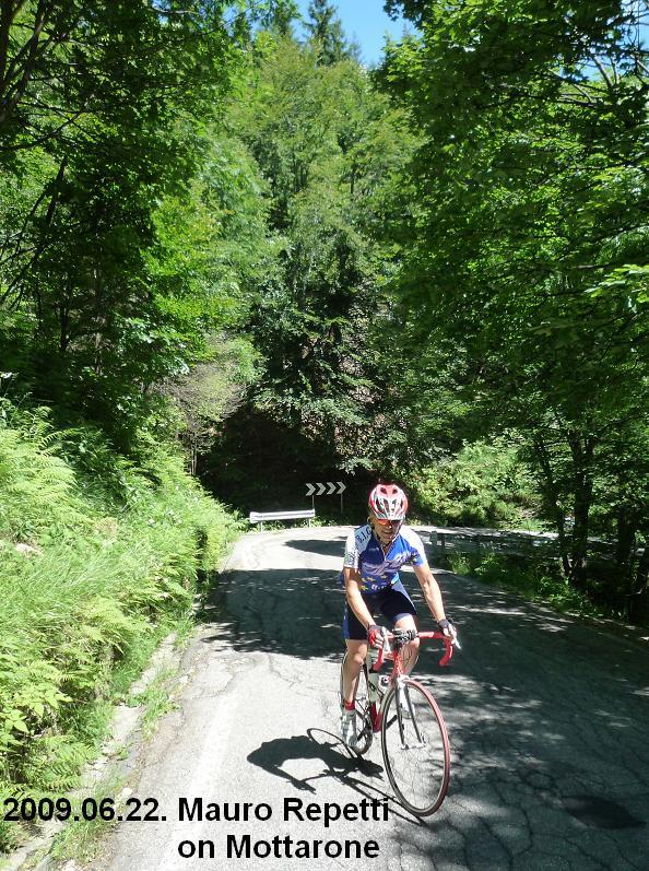 Mauro Repetti cycling MOttarone