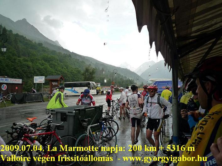 La Marmotte, Valloire refreshment point