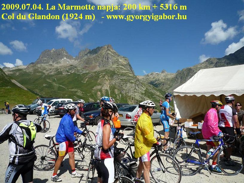La Marmotte Col du Glandon 1924 m