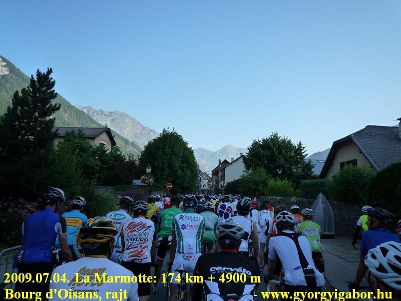 La Marmotte rajt / start