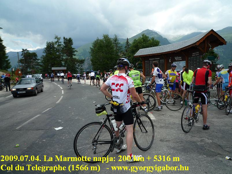 La Marmotte Col du Telegraphe