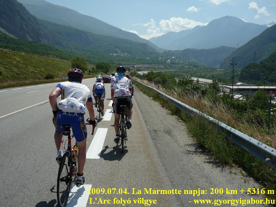 La Marmotte Arc valley