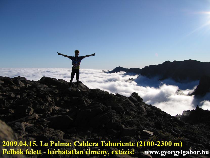 Györgyi Gábor & La Palma , Roque de los Muchachos