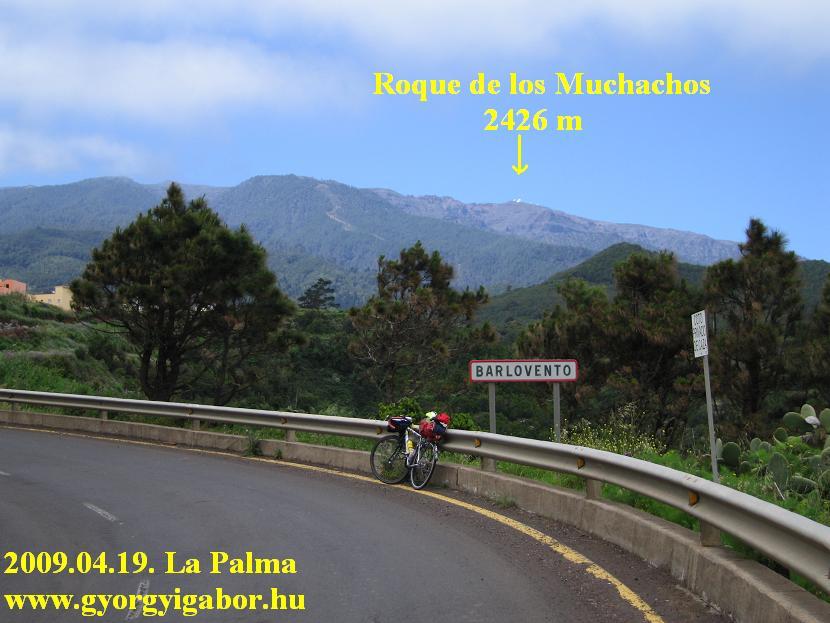 A Roque Barloventó széléről
