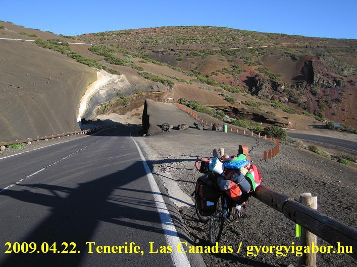 Teide ascent from Esperanza / volcanic stones