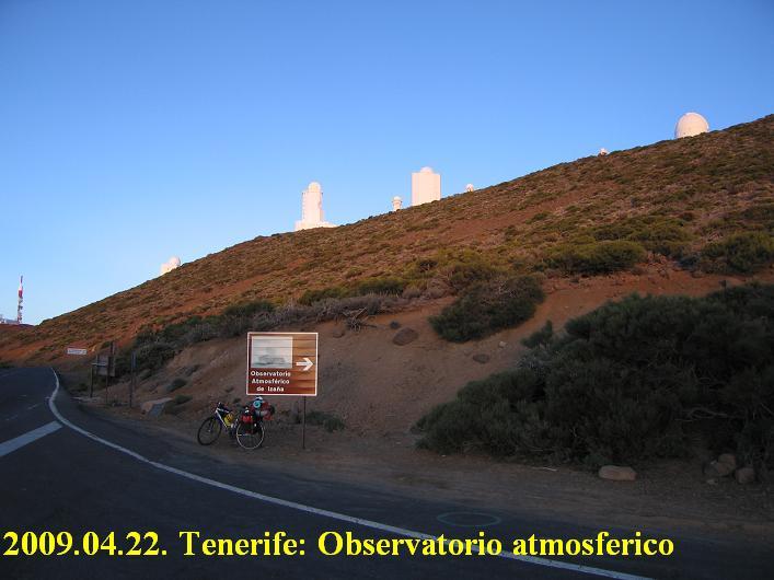 Tenerife, Teide plateau, Izana / observatorio