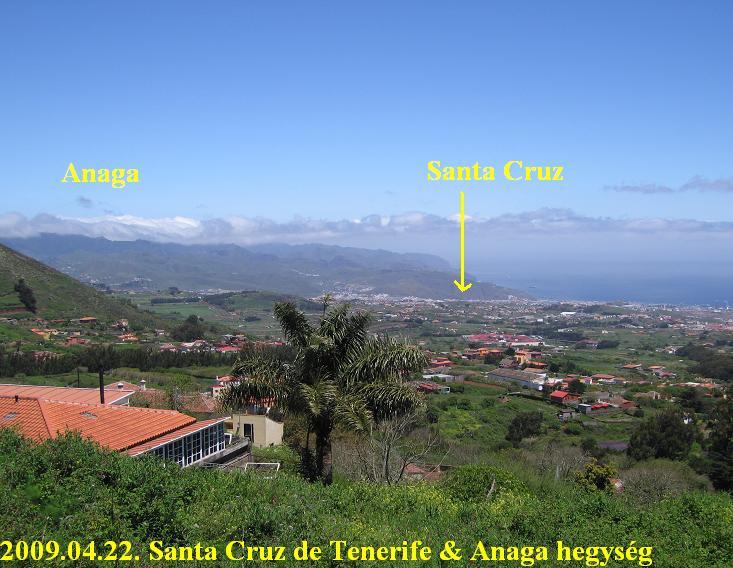 Anaga mountains hegység + Santa Cruz de tenerife