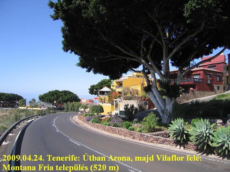 Tenerife, Teide ascent, Montana Fria