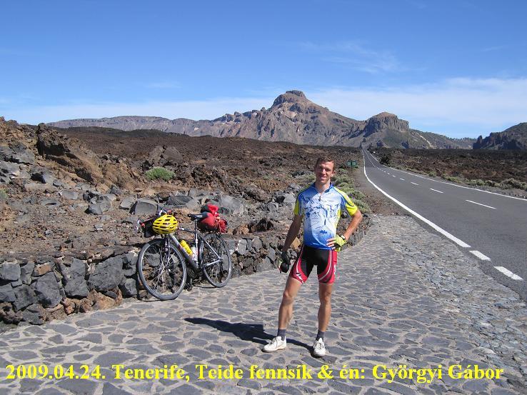 Tenerife, Teide plateau, fennsík, Lavas Negras (fekete láva)
