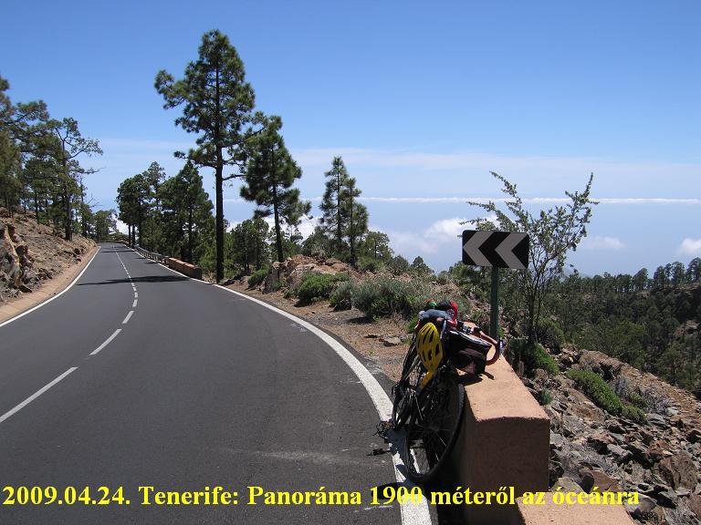 Tenerife, Teide ascent / emelkedő above Vilaflor