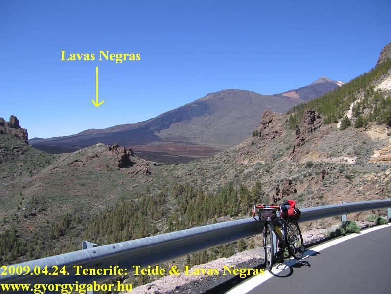 Tenerife,Teide ascent emelkedő above Vilaflor