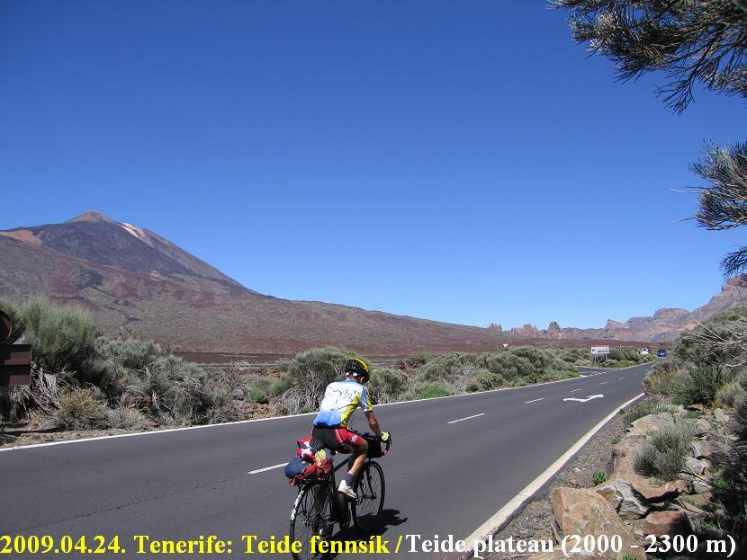 Tenerife, Teide ascent emelkedő above Vilaflor