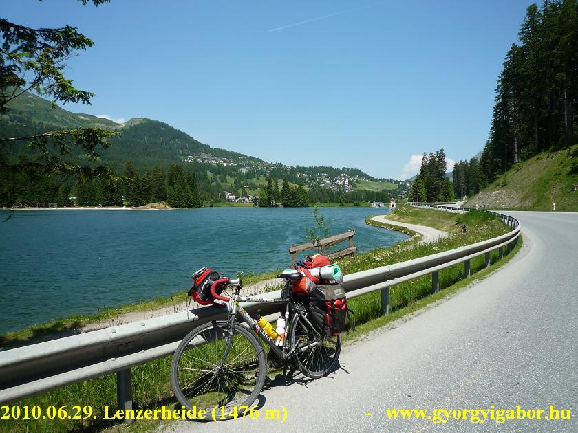 Lenzerheide, Schweiz - bicycle / bringatúra
