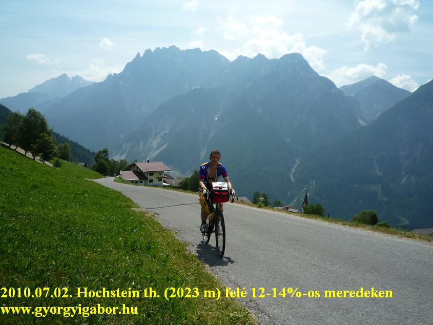 Hochstein hütte , Györgyi Gábor - bicycle / bringatúra