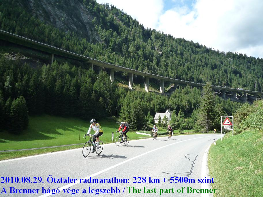 Ötztaler radmarathon / bicycle marathon / Brennerpass: Györgyi Gábor
