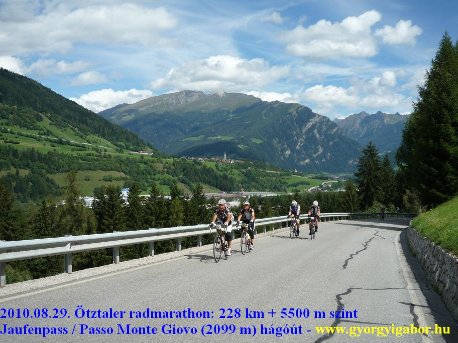Ötztaler radmarathon / bicycle marathon / Jaufenpass , Passo Monte Giovo:: Györgyi Gábor