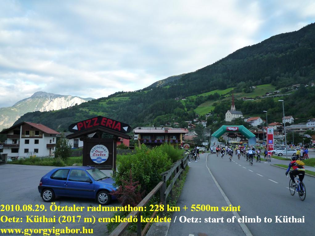 Ötztaler radmarathon / bicycle marathon / Oetz: Györgyi Gábor