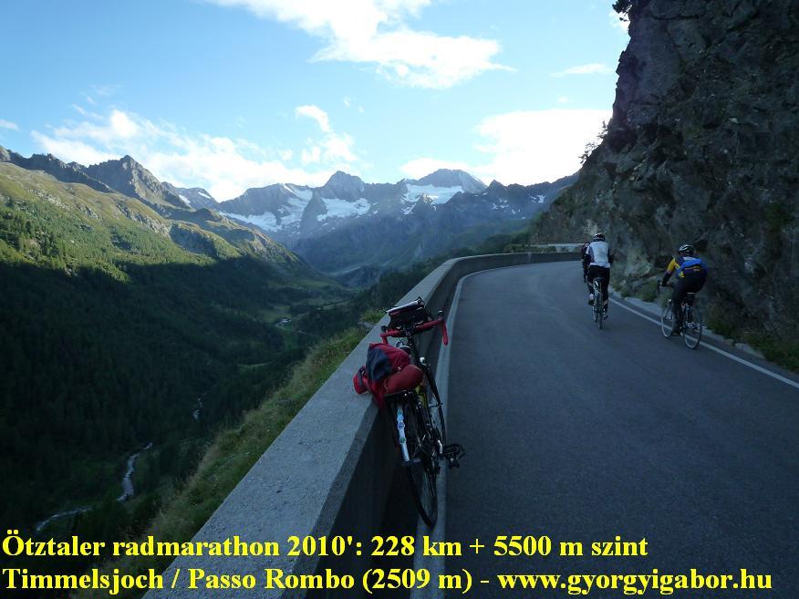 Ötztaler radmarathon / bicycle marathon / Timmelsjoch, Passo Rombo: Györgyi Gábor