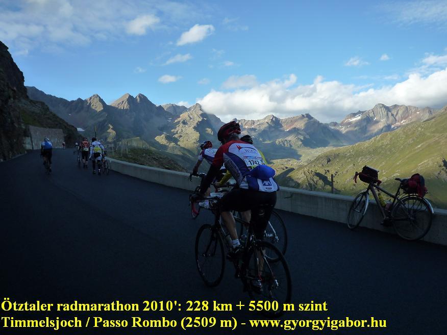 Ötztaler radmarathon / bicycle marathon / Timmelsjoch / Passo Rombo : Györgyi Gábor