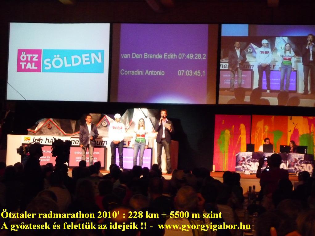 Ötztaler radmarathon / bicycle marathon