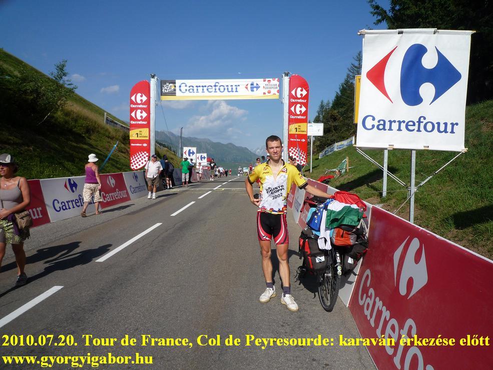 Pyrenées, Pirineos, Pireneusok,  Col de Peyresourde - Tour de France - Györgyi Gábor 2009