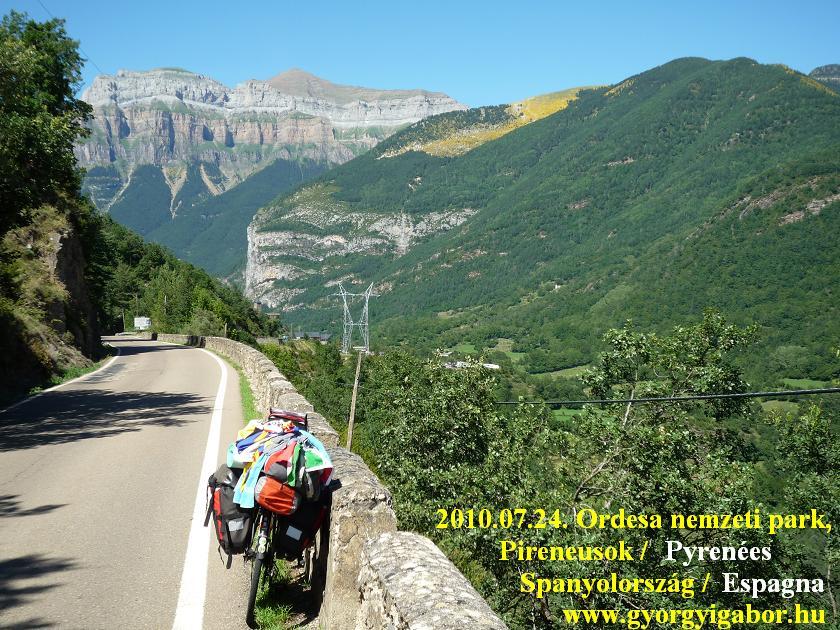Györgyi Gábor : Pyrénées, Ordesa canyon, MOnte Perdido