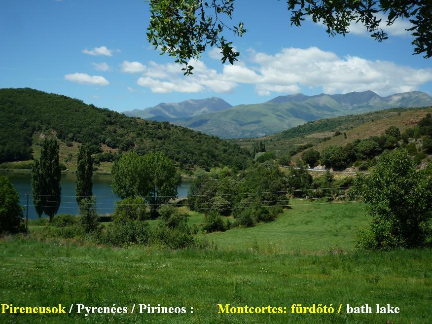 Pyrenées bicycletour, Pireneusok bringatúra :  Montcortes - Györgyi Gábor 2010