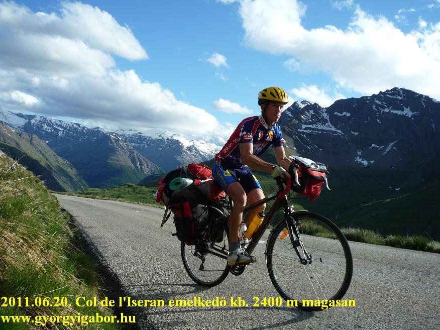 French Alps : Col de l'Iseran (2770 m) - Györgyi Gábor 2011