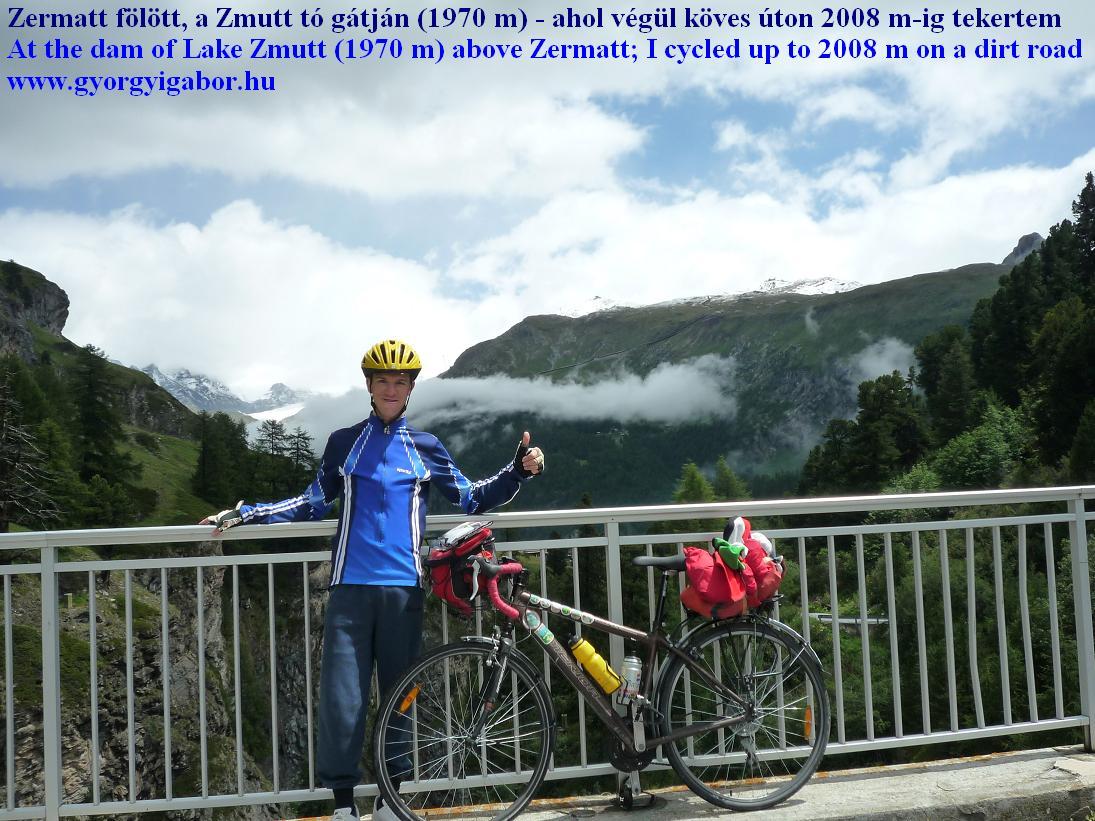 Zermatt Zmutt speicher / dam Alps Alpok Alpen -  Györgyi Gábor 2011