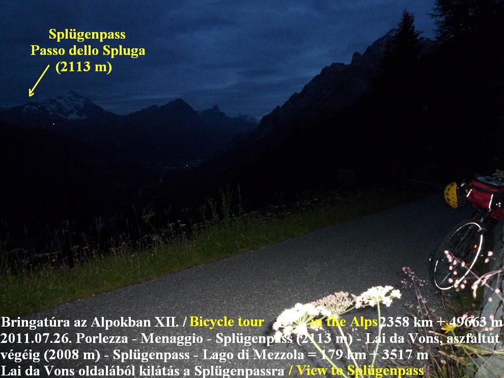 Sufers Lai (Lago) da Vons Alps Alpok Alpen -  Györgyi Gábor 2011