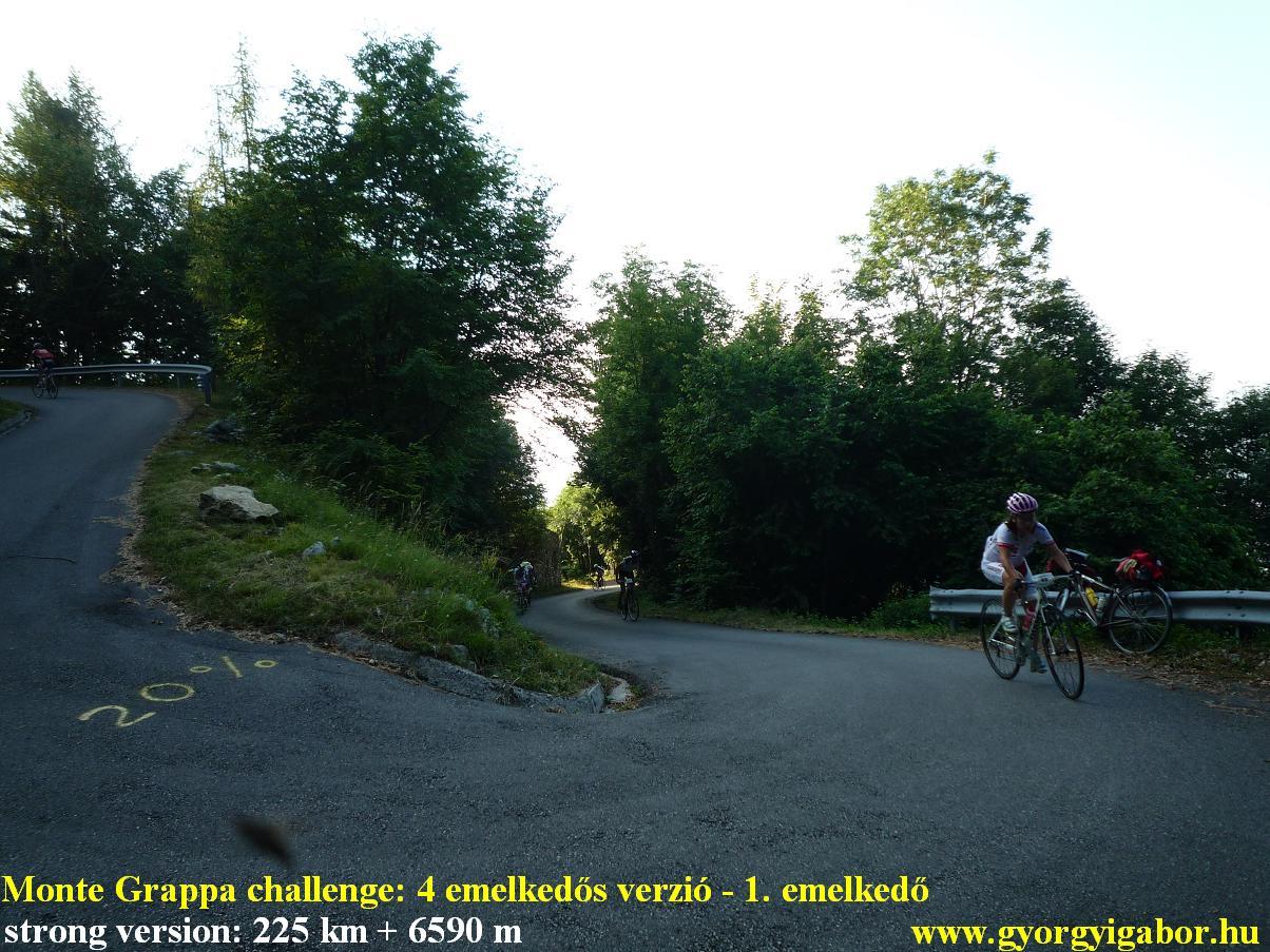 Györgyi Gábor & Monte Grappa challenge - strong version: Paderno del Grappa , Romano d'Ezzelino , Caupo, Selen del Grappa