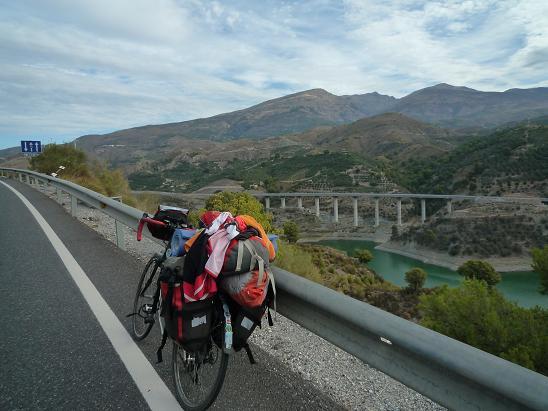 Györgyi Gábor :  Pico Veleta biciklitúra / bicycle tour