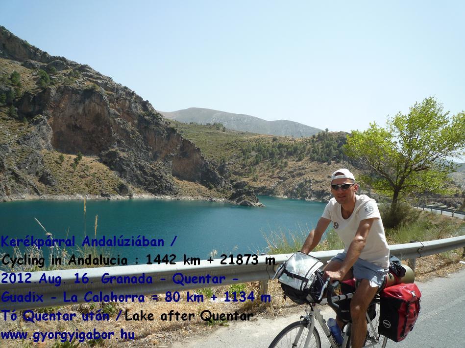 Györgyi Gábor :  Andalúzia kerékpárral / bicycle tour ; Quentar