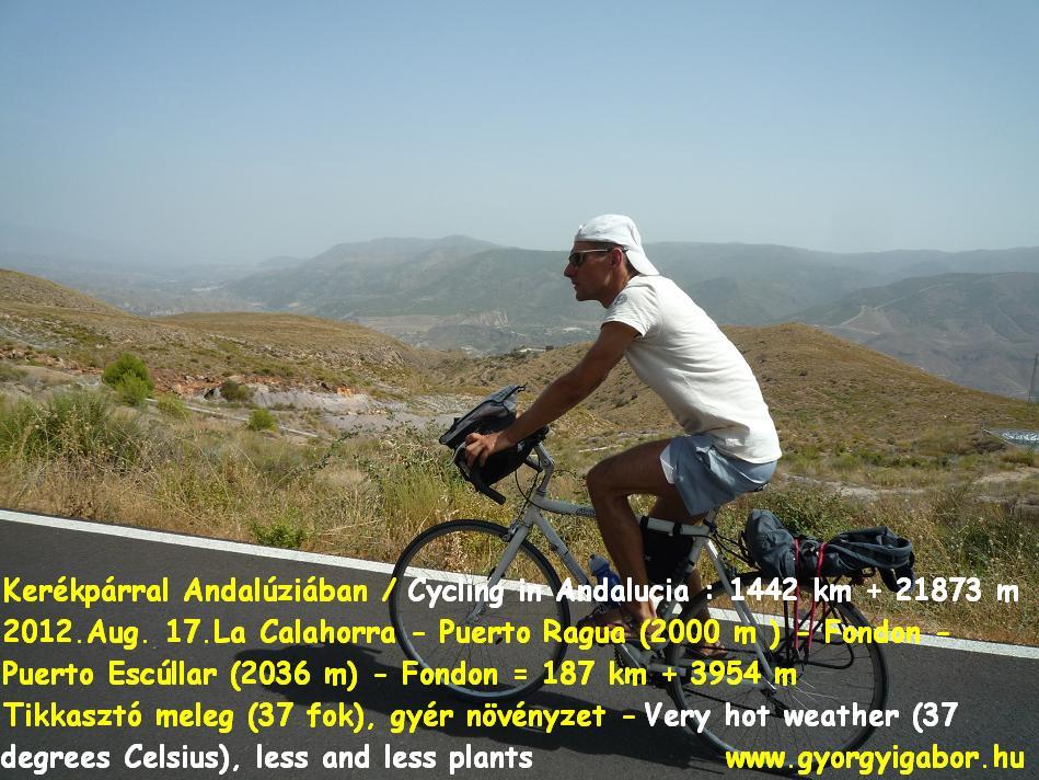 Györgyi Gábor :  Andalúzia kerékpárral / bicycle tour - towards Ohanes
