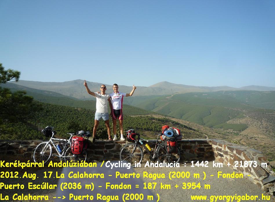 Györgyi Gábor :  Andalúzia kerékpárral / bicycle tour - Puerto Ragua