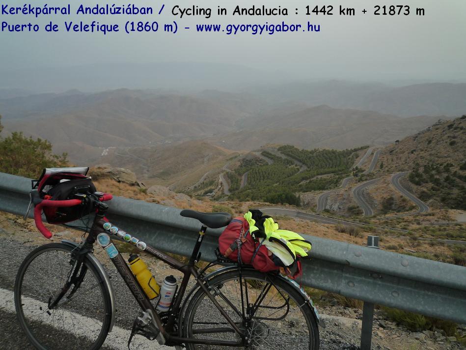 Györgyi Gábor :  Andalúzia kerékpárral / Andalucia bicycle tour - Puerto de Velefique