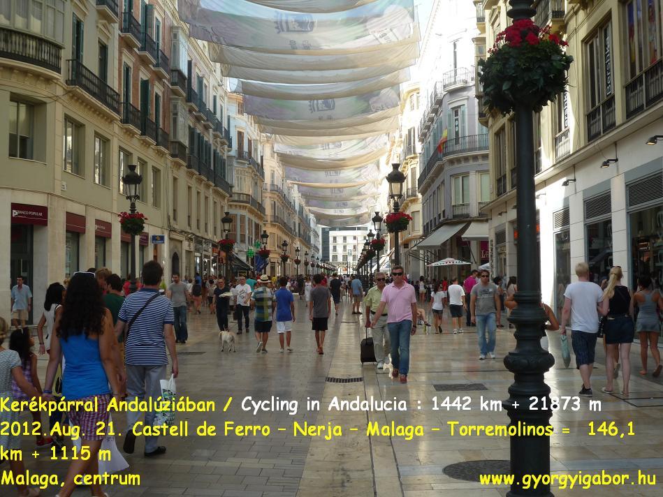 Györgyi Gábor : Andalucia bicycle tour - Malaga