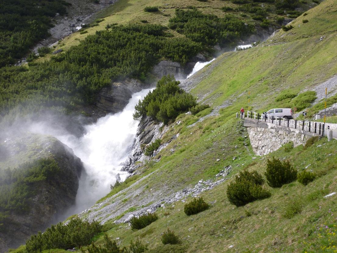 Valtellina Extreme Brevet, Umbrailpass , Passo dello Stelvio
