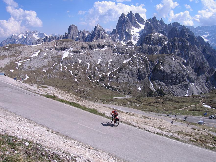 Györgyi Gábor & Rifugio Auronzó / Drei Zinnen / Tre Cime (2350 m)