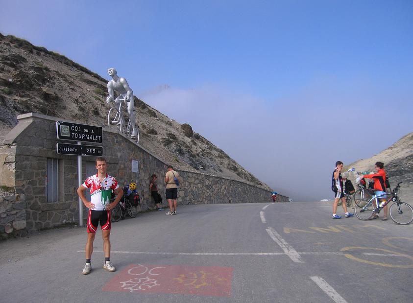 Györgyi Gábor & Col du Tourmalet (2115 m) - Pireneusok
