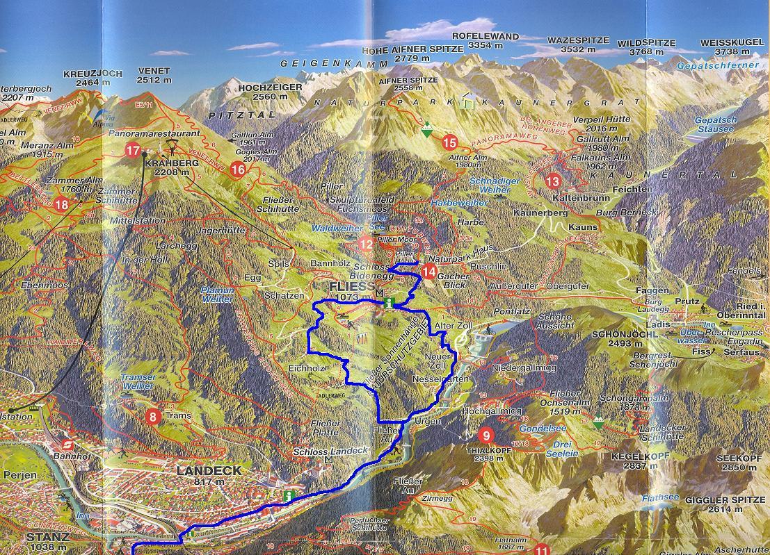 pilis domborzati térkép Györgyi Gábor: 2008. Alpesi bringatúra 17. nap : Pillerhöhe  pilis domborzati térkép