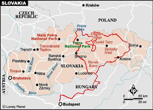 1998 Zig Zagging Between The Mountains Of The Carpathians Or Br